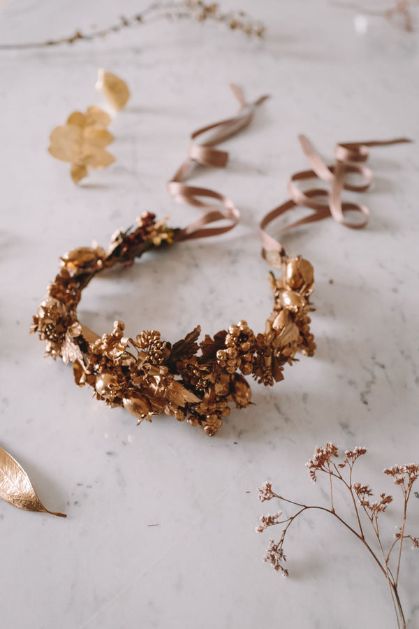 Goldie Handmade Queen Flowercrown Tracht