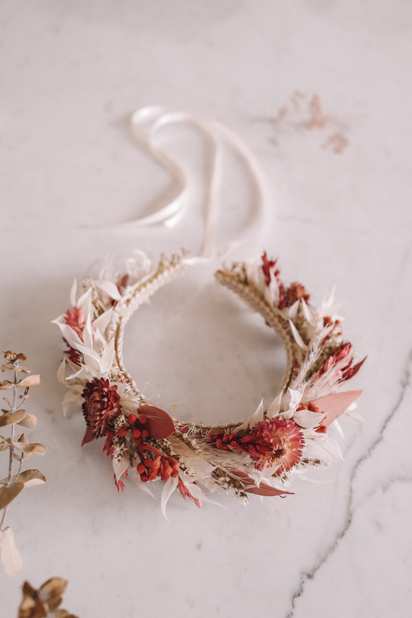 Cherry Handmade Queen Flowercrown