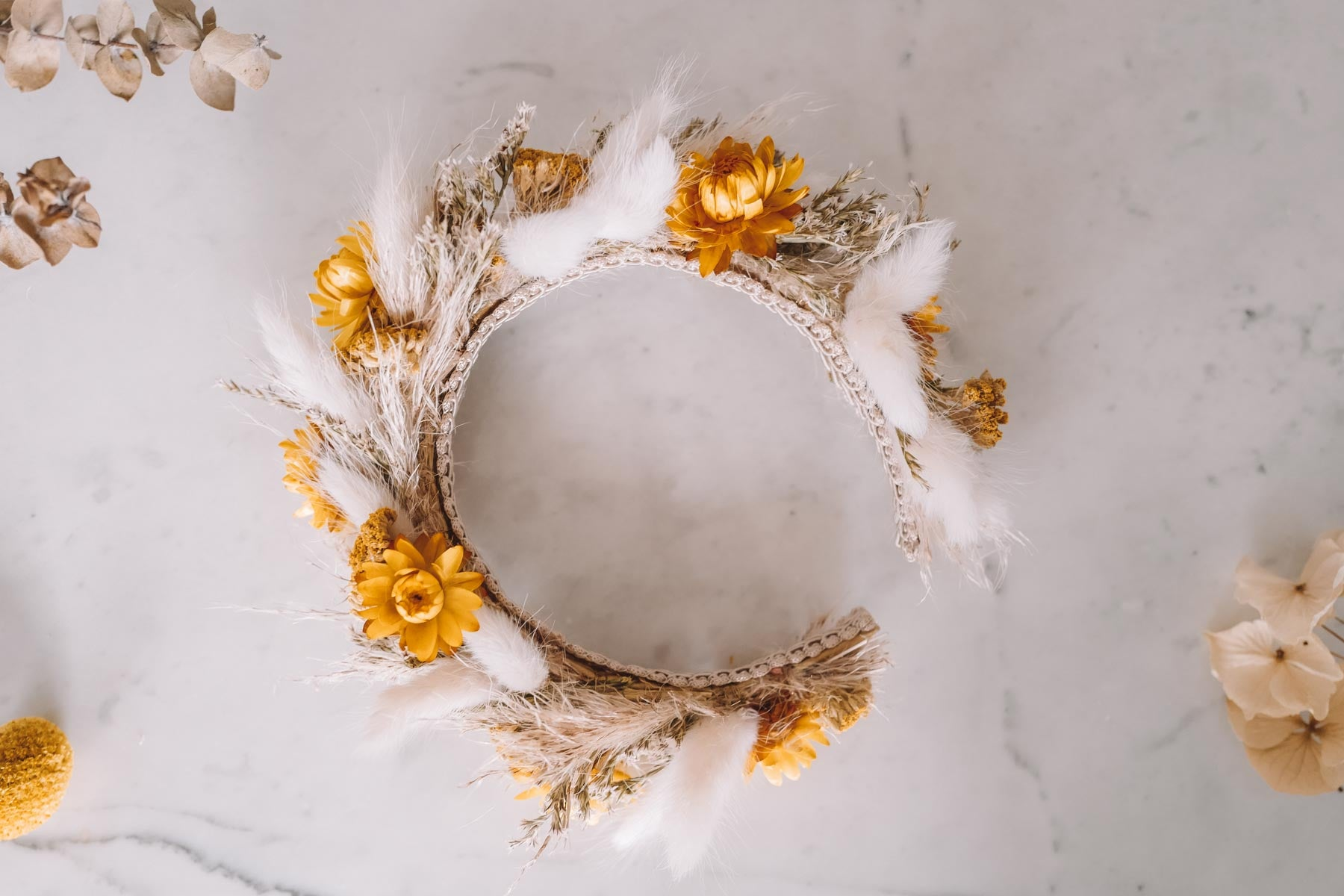 Gloria Handmade Queen Flowercrown