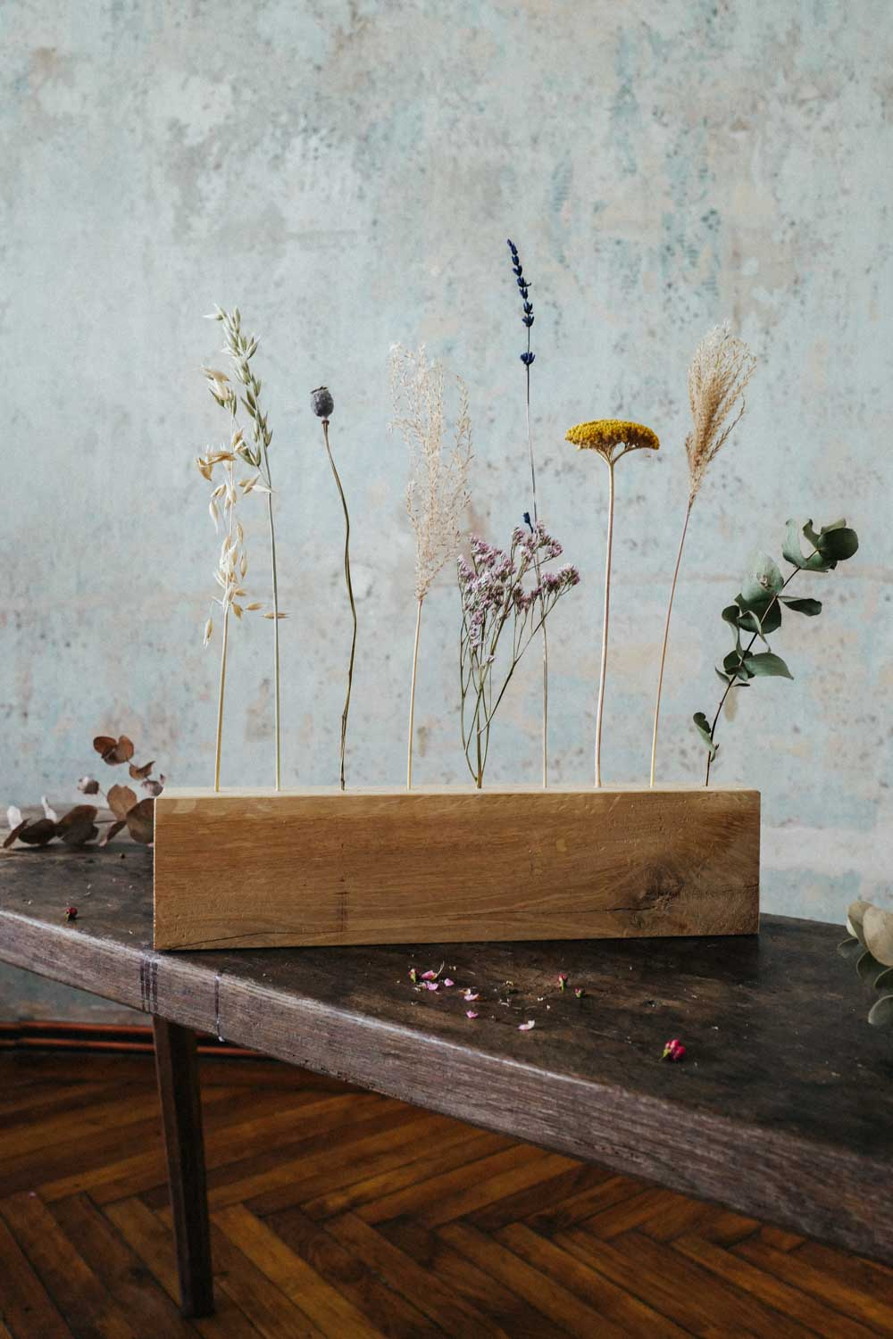 Wooden Dried Flower Bar Extra Large