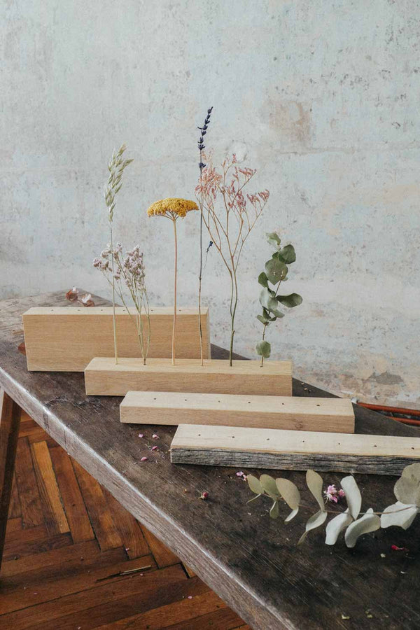 Wooden Dried Flower Bar Large