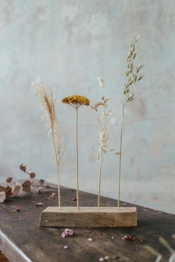 Wooden Dried Flower Bar Small