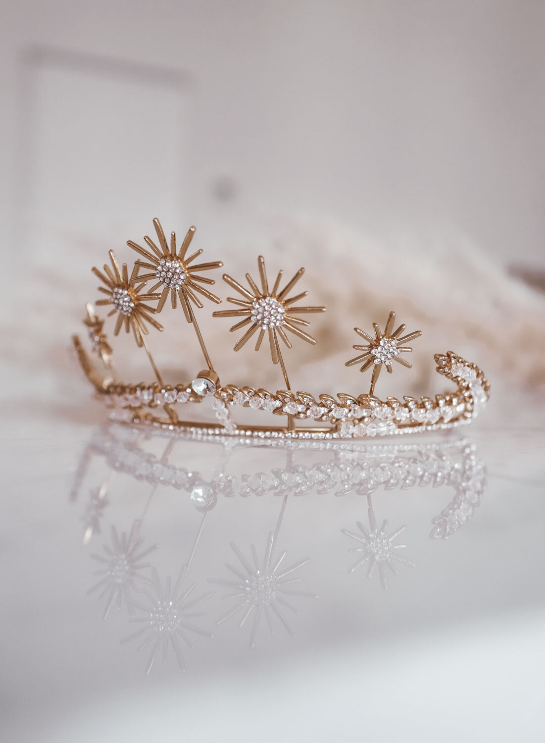 Sparkling Stars Headpiece
