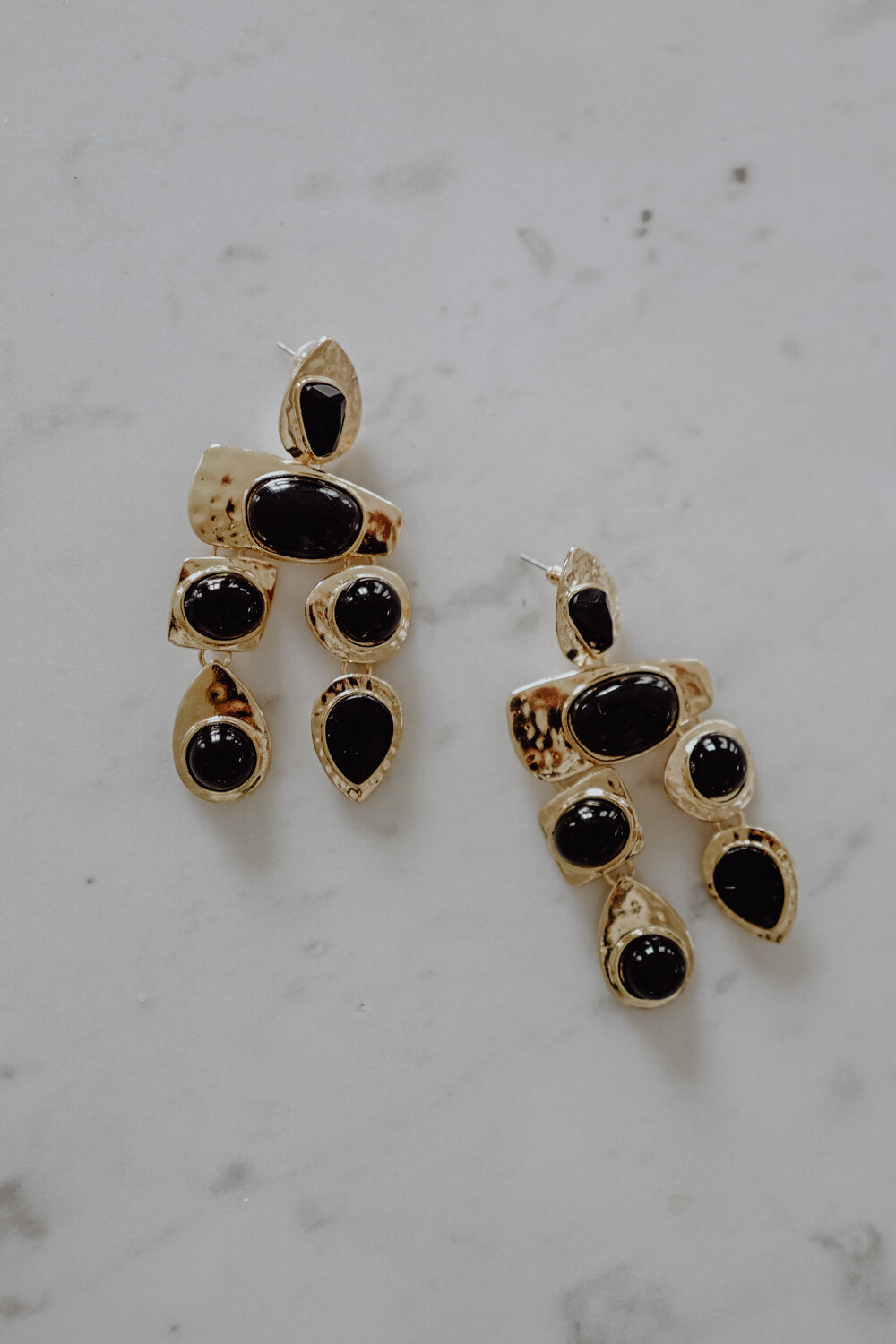 Black Night Earrings