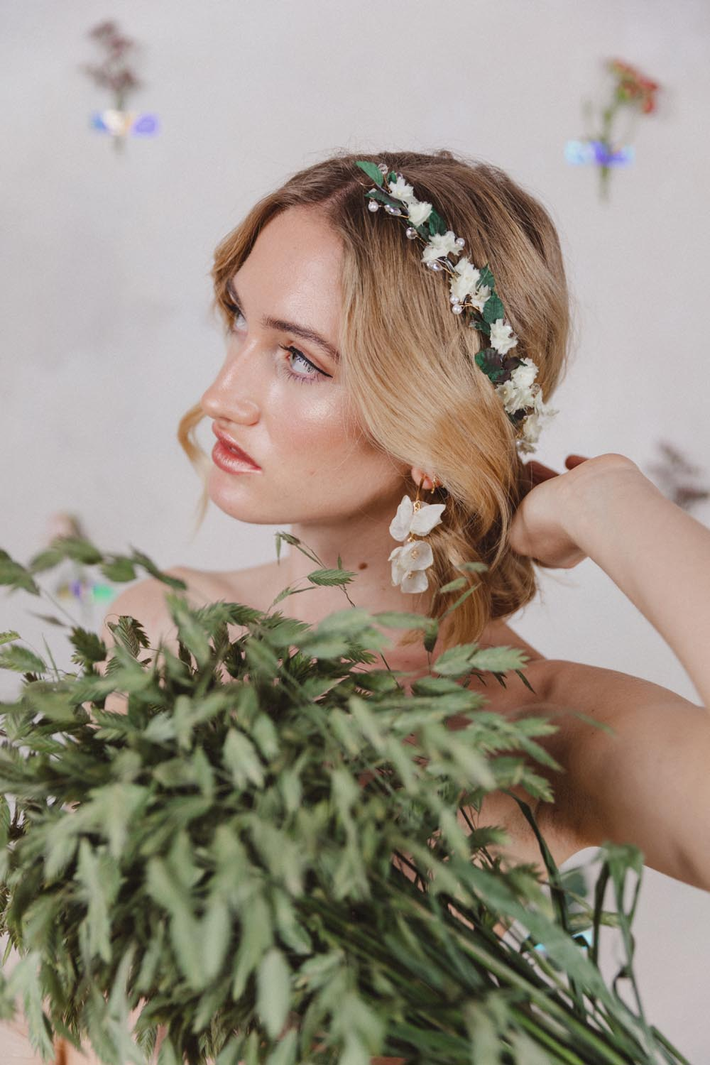 Therese Flower Headpiece