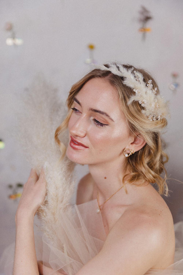 Elisabeth Handmade Dried Flower Headpiece