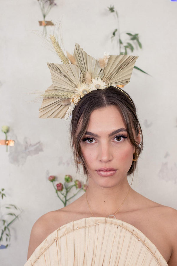 Laura Handmade Dried Flower Headpiece