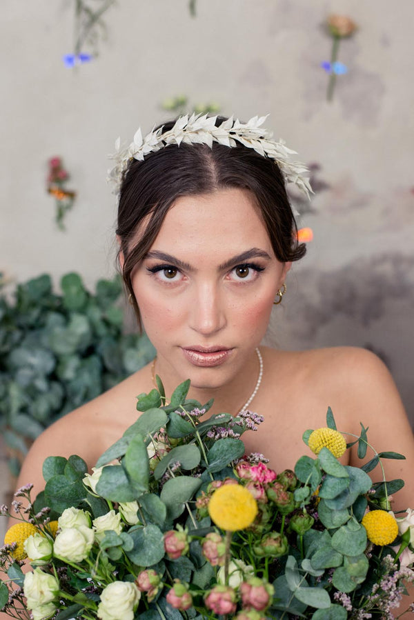 Amelie Handmade Dried Flower Headpiece