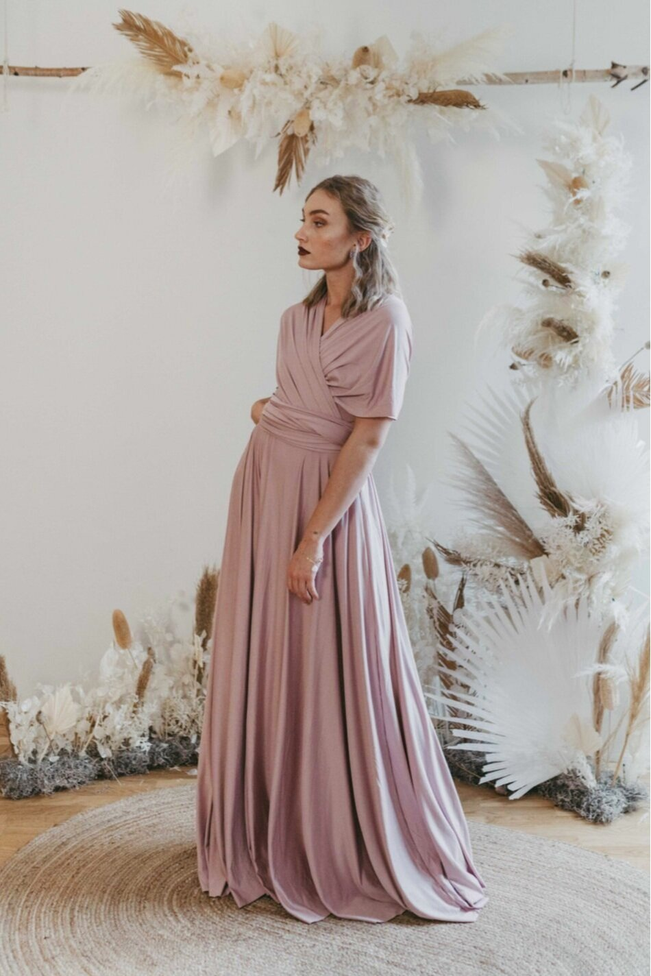 Long Dress - Taupe