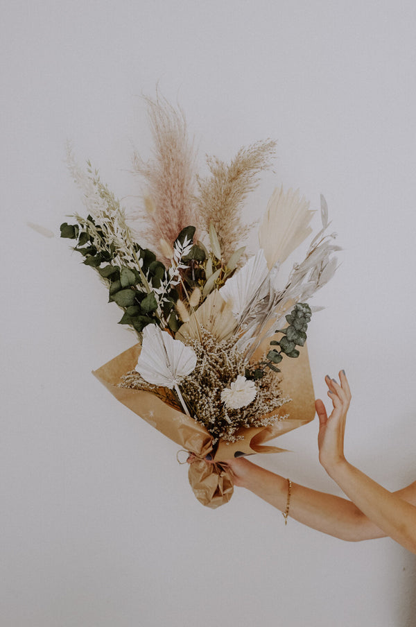 Large Green Dried Flower Bundle