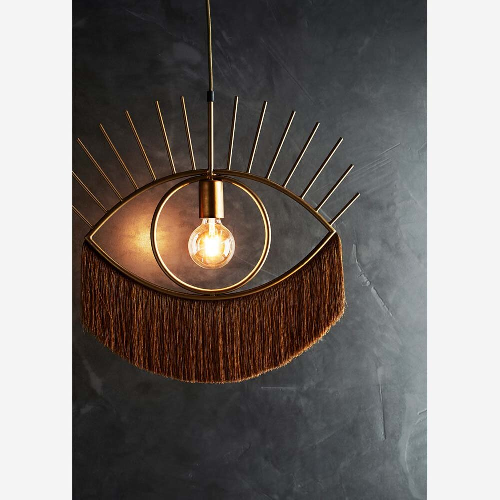 White Bungalow Eye Lash Lamp