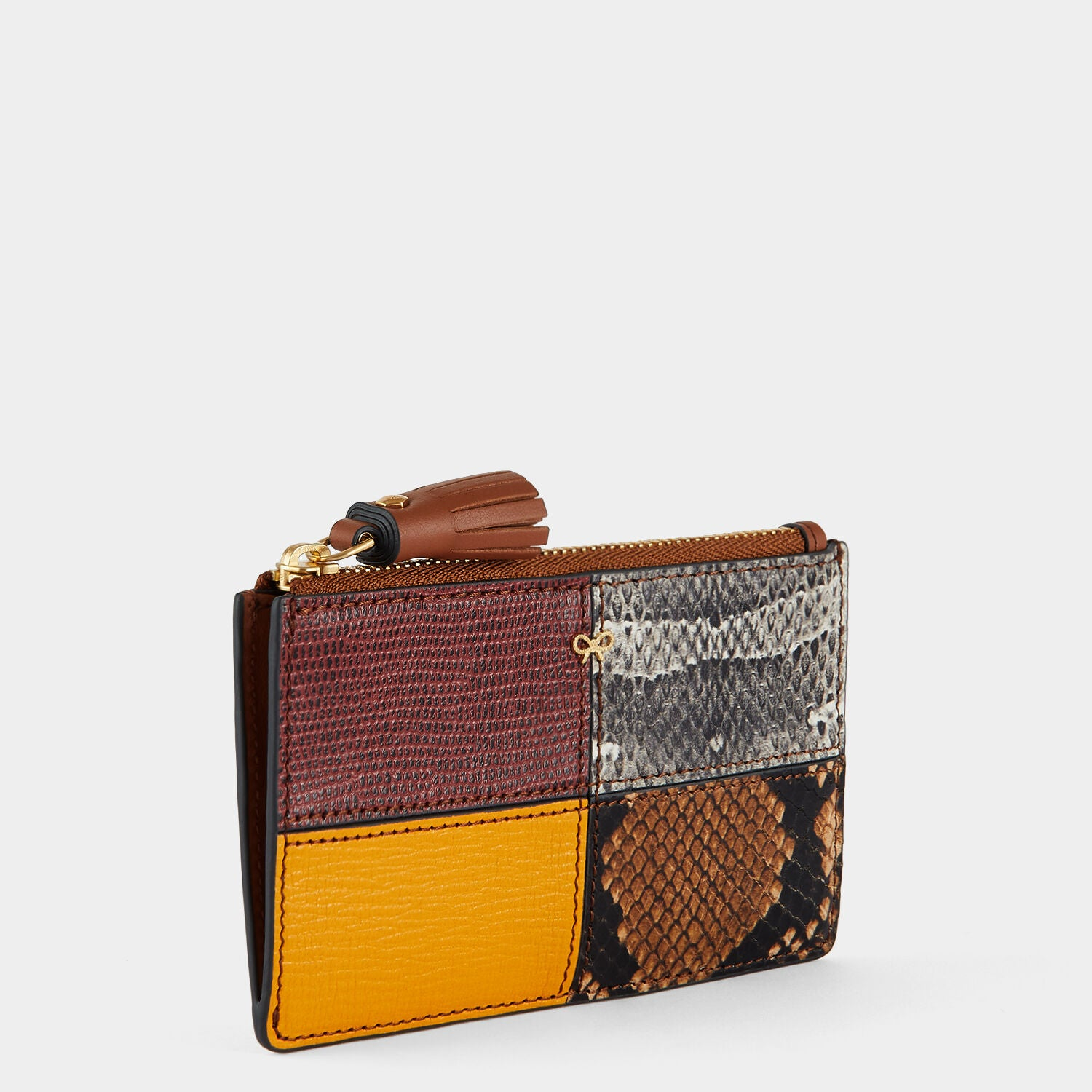 Patchwork Zipped Card Case