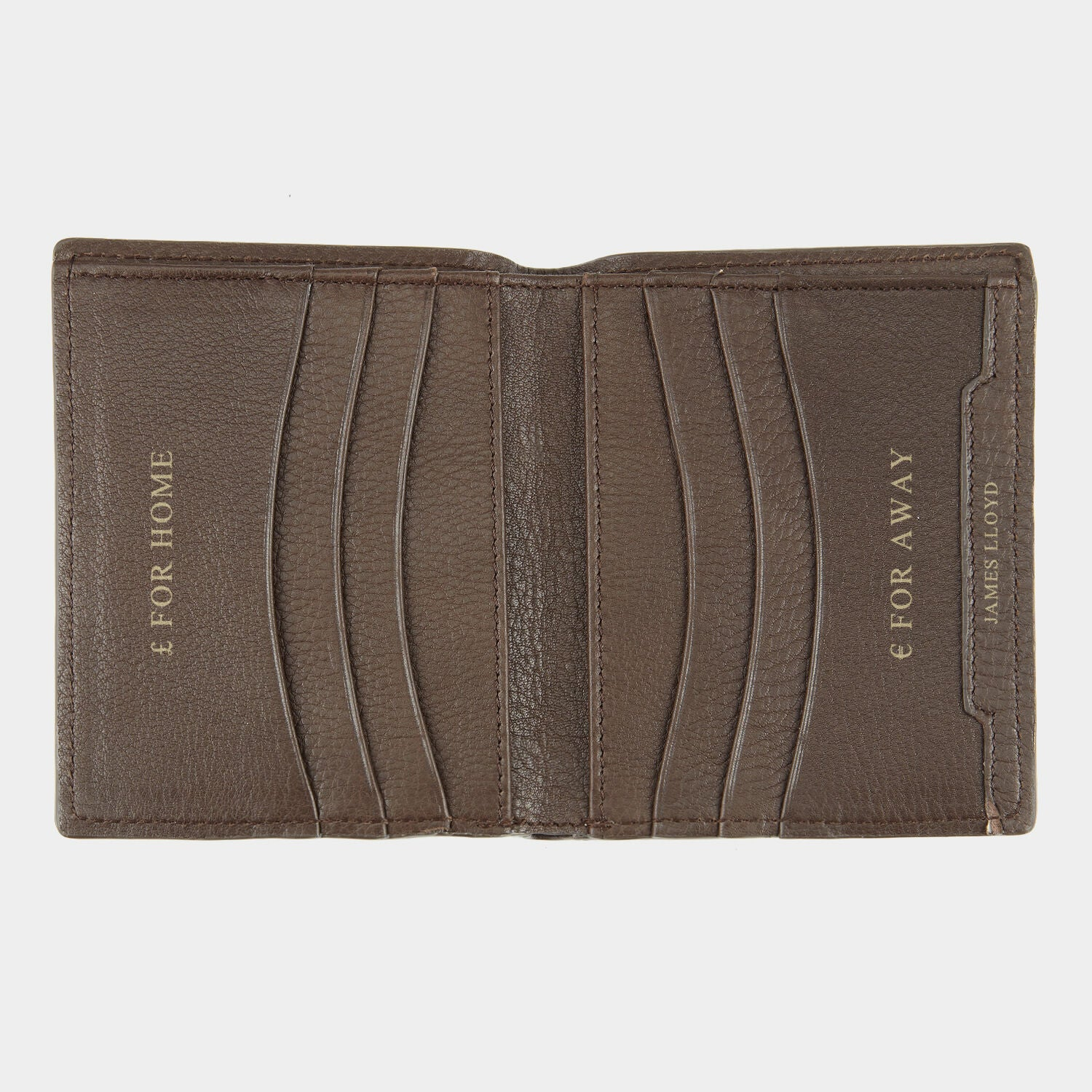 Bespoke 6 Card Vertical Wallet