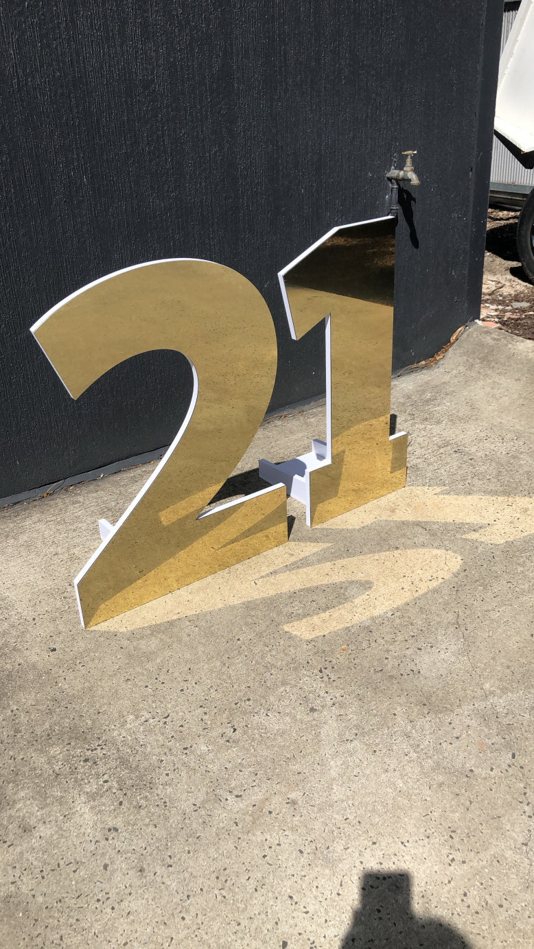 Gold 21 numbers