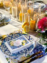 Load image into Gallery viewer, Blue Positano plates