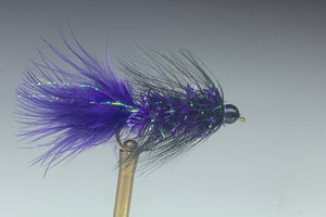 BLACK HEAD BUGGER (PURPLE) *TUNGSTEN*