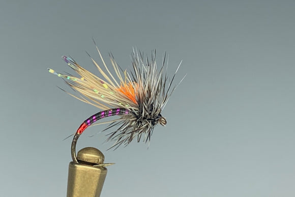 UV HOT SPOT CADDIS (PURPLE/BLACK)