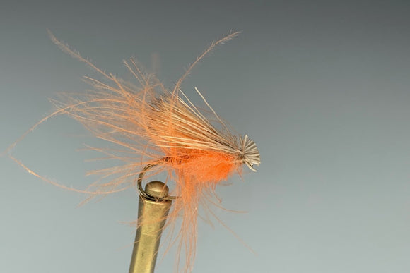 CDC ELK HAIR CADDIS (ORANGE)