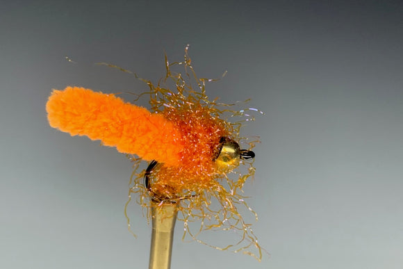 THE JANITOR (ORANGE - GOLD BEAD) *TUNGSTEN*