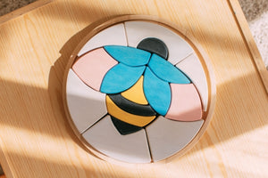 Bee Puzzle by AVDAR