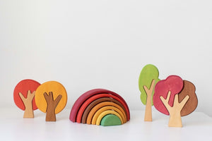 Rainbow Stacker Fall (Small) by AVDAR