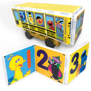 Sesame Street - School Bus by CREATEON