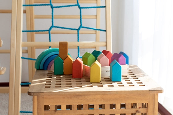 Rainbow House Block by AVDAR