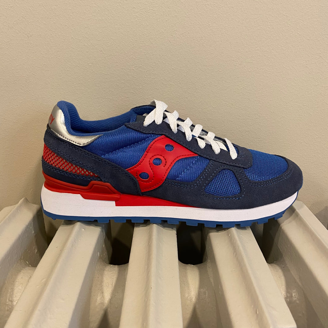 Sneaker shadow navy/red