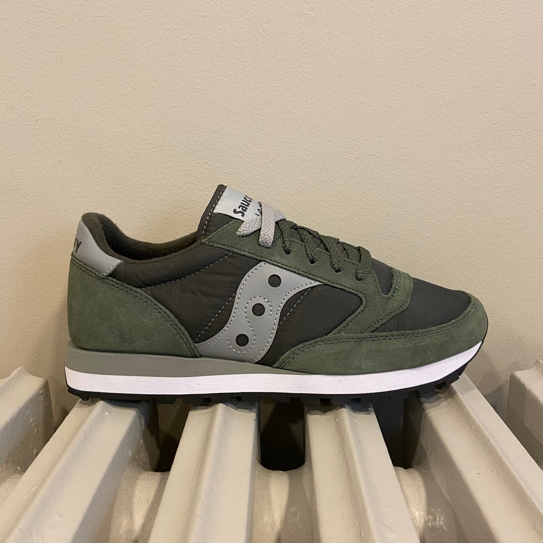 Sneaker Saucony military grey