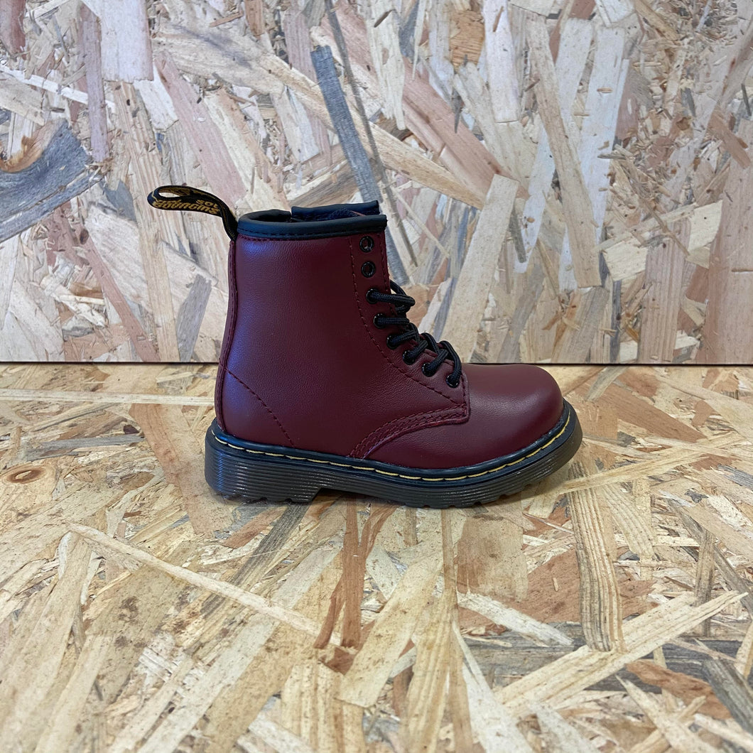 Dr.Martens anfibi cherry red