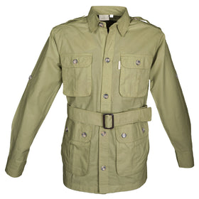 Safari Jacket for Men - Khaki