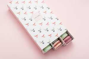'JUICY-FRUITS' 30-piece macaron selection gift box