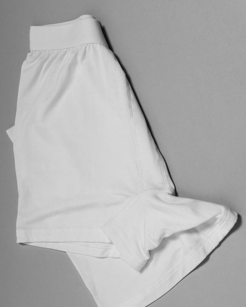 Tencel® Boxer Short White