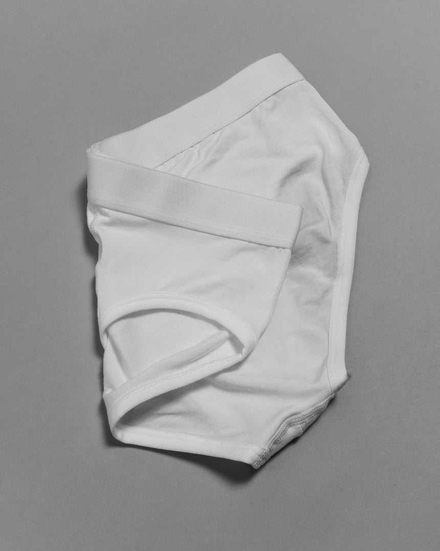 Tencel® Y Brief White