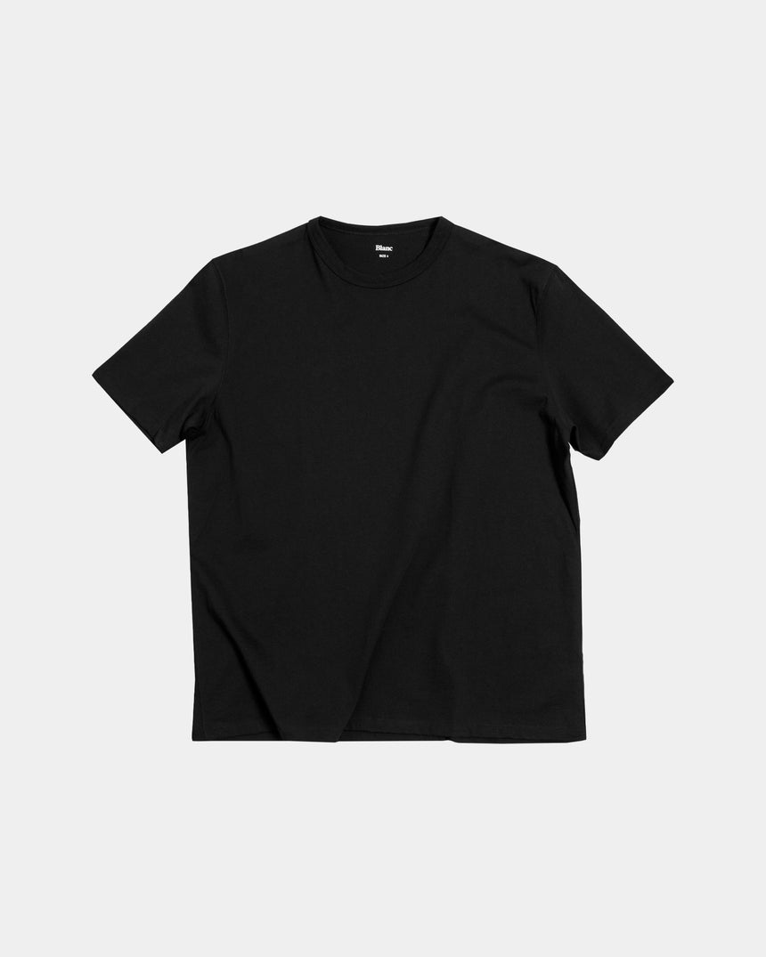 Classic Tee, 200 gr. Combed Cotton, Black