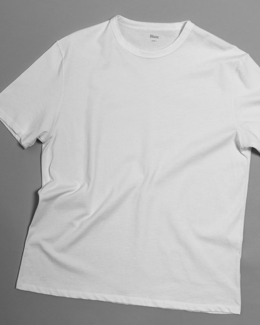Classic Tee, 200 gr. Combed Cotton, White