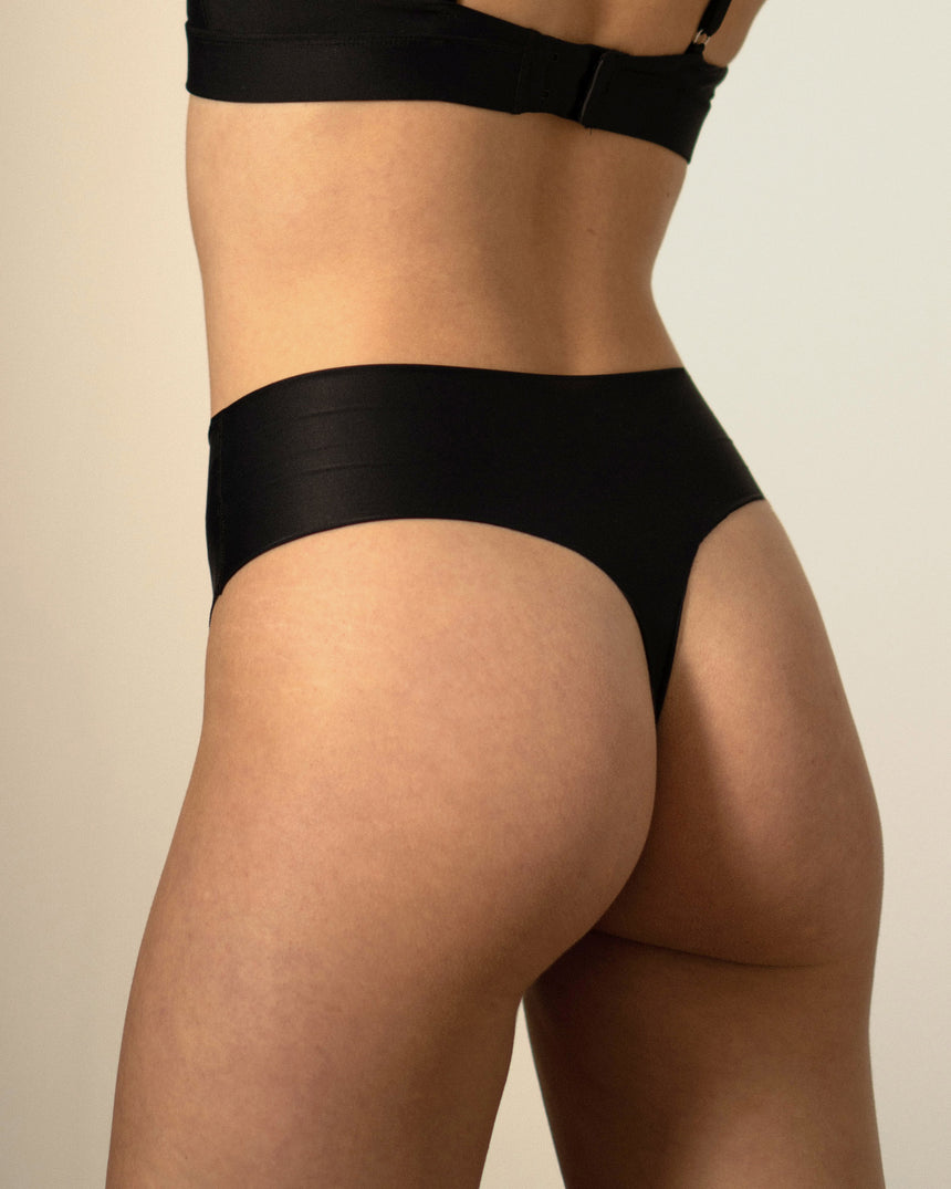 DryNylon Thong Black
