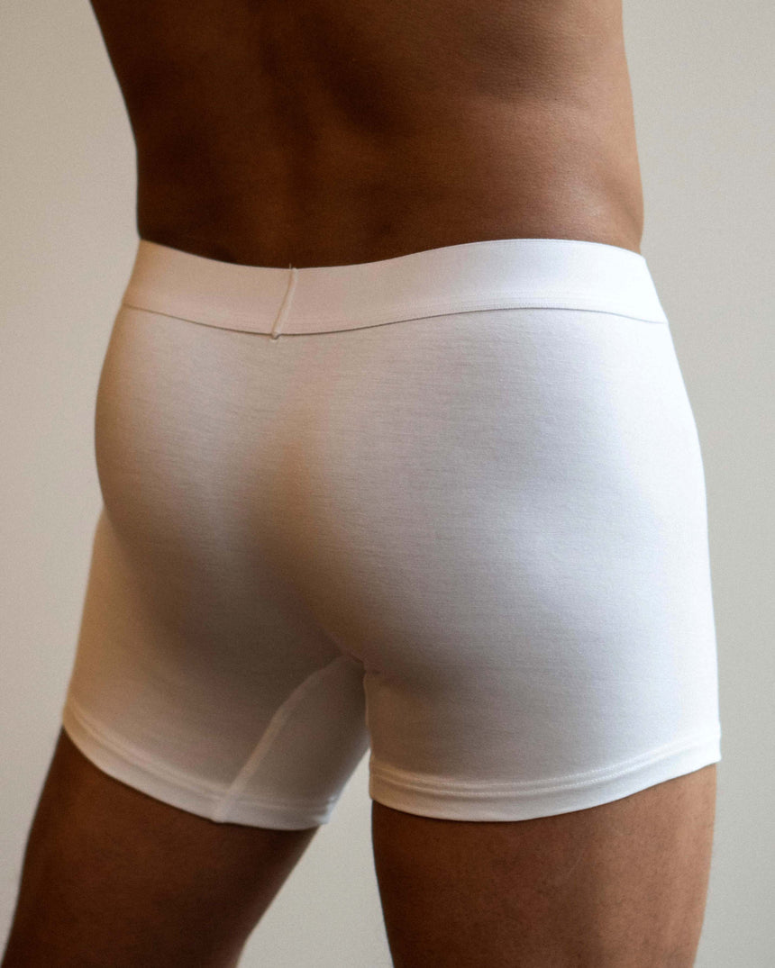Tencel® Boxer Brief White