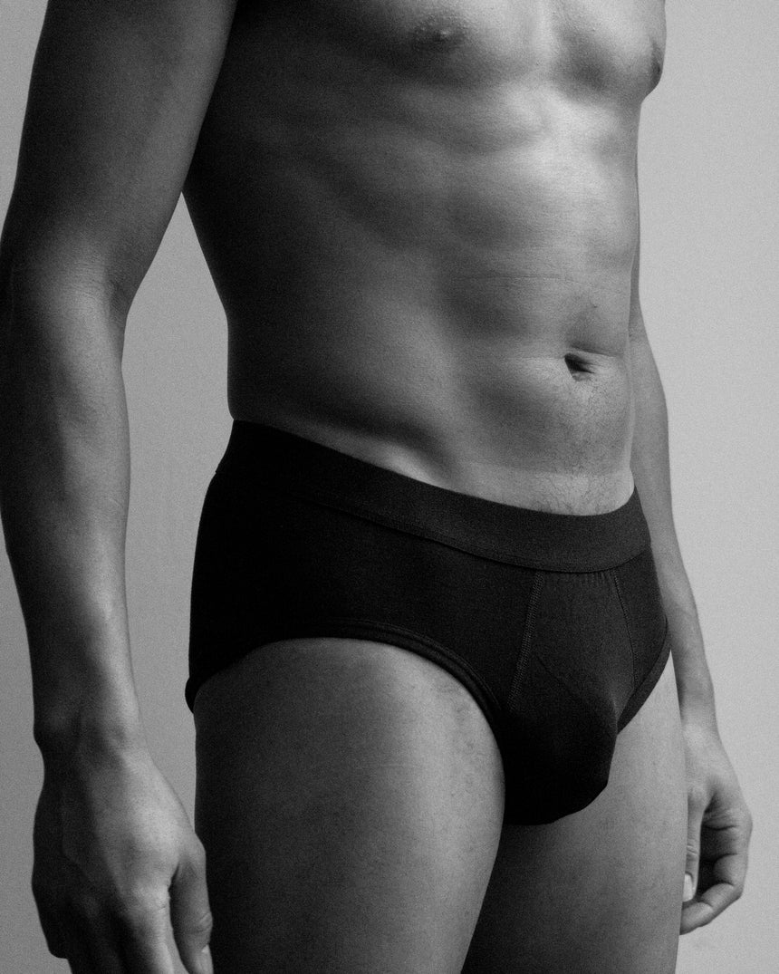 Tencel® Y Brief Black