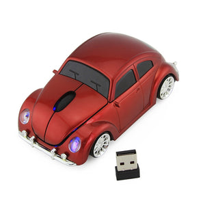 2.4GHz Wireless Car Gaming Mouse