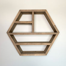 Load image into Gallery viewer, Hexagon Display Shelf