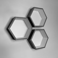Load image into Gallery viewer, Hexagon Shelves | Set of Three