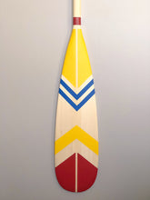 Load image into Gallery viewer, Quinte Painted Canoe Paddle