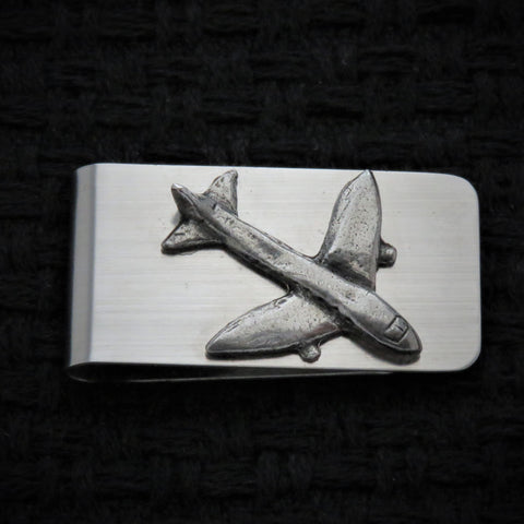 Airplane Money Clip