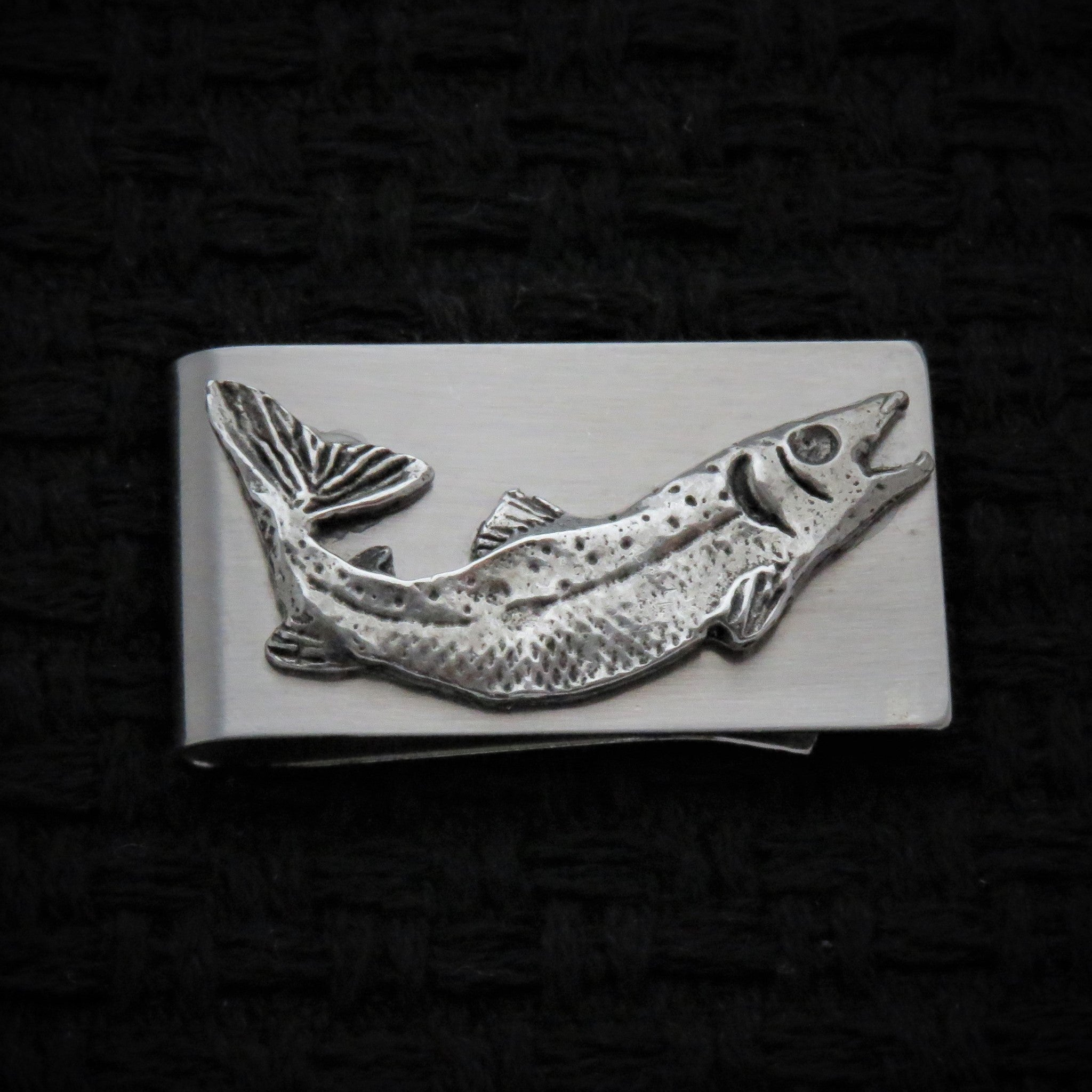 Salmon Money Clip