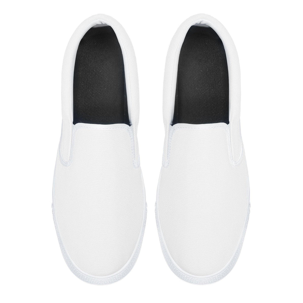 DIY Slip-on Shoes - White - Printer Me - Fashion & Style