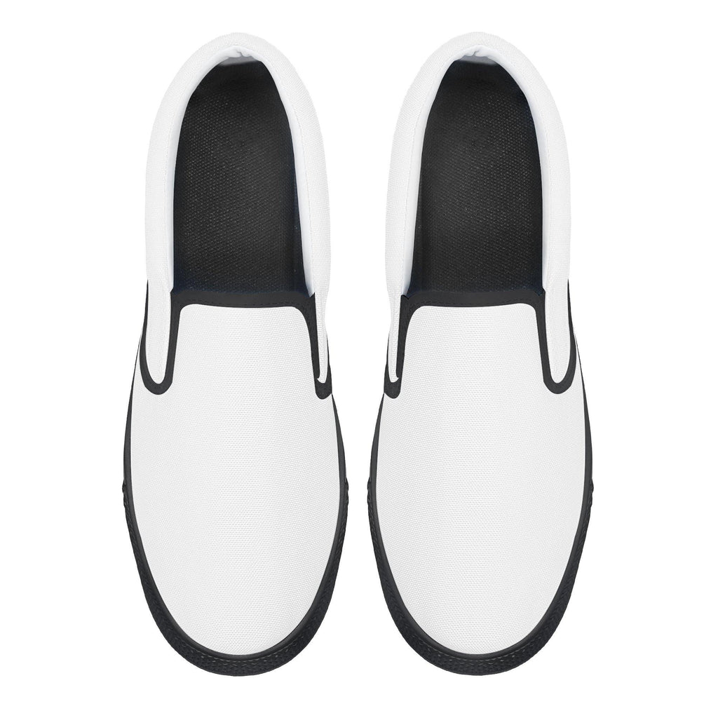 DIY Slip-on Shoes - Black - Printer Me - Fashion & Style