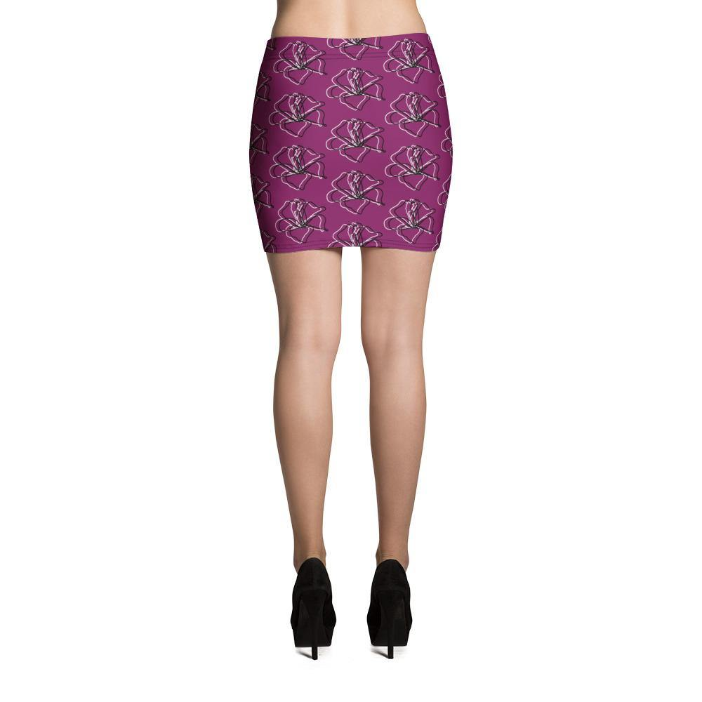 Flowers Skirt - Printer Me - Fashion & Style