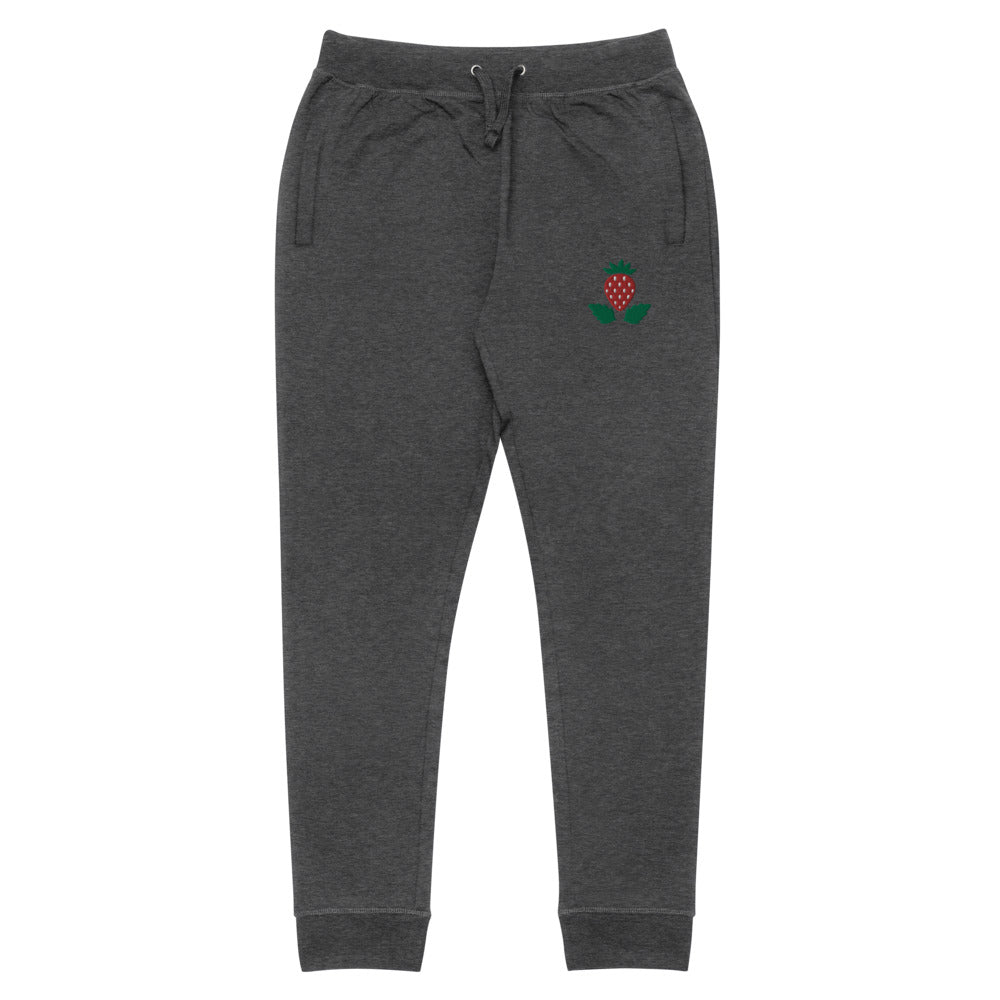 Strawberry Unisex Skinny Joggers
