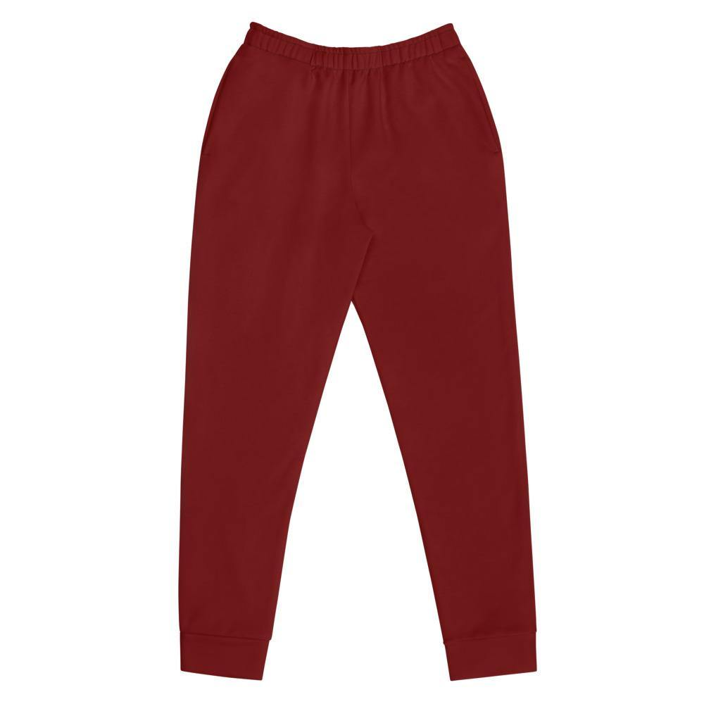 Deep Red Joggers - Printer Me - Fashion & Style